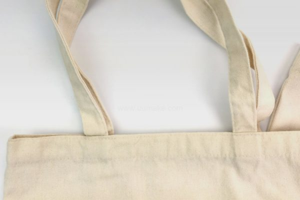 純色豎款棉布袋,環保袋,手提購物袋
