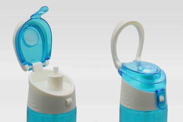 雙色運動水壺,塑膠杯