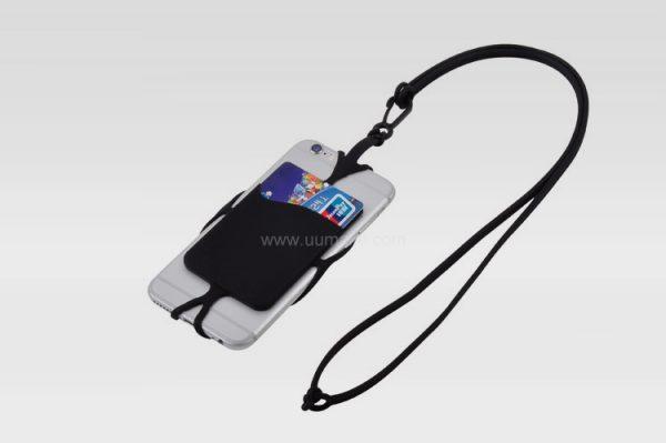硅膠手機掛繩卡套,數碼配件,隨身用品