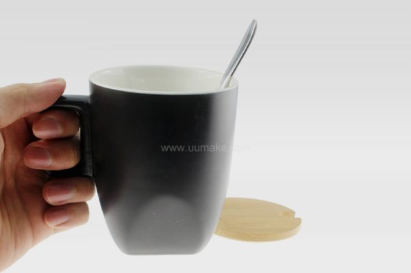 啞光方腳杯,陶瓷杯