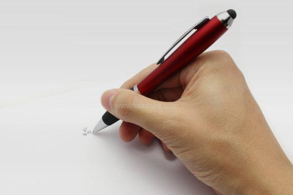 廣告走珠筆,手按直桿原子筆,辦公並文具,塑膠圓珠筆,葫蘆觸控筆