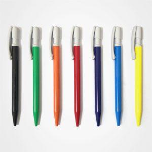 塑膠廣告走珠筆,手按直桿原子筆,辦公並文具,間易圓珠筆