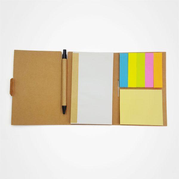 帶筆環保便簽簿,筆記簿,書寫,辦公文具