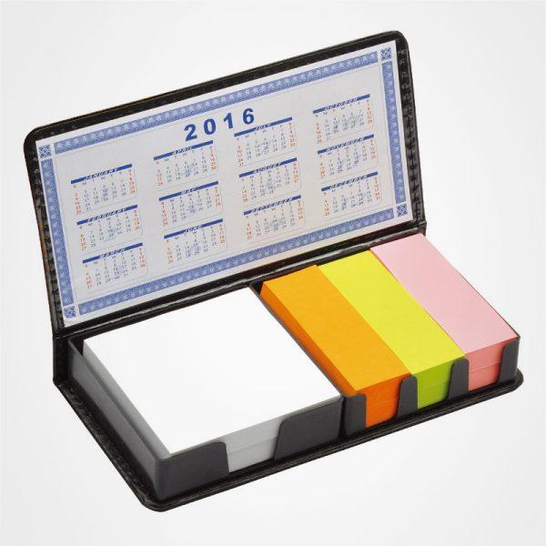 臺式便簽簿,帶日曆PU即時貼,告示貼,記事貼