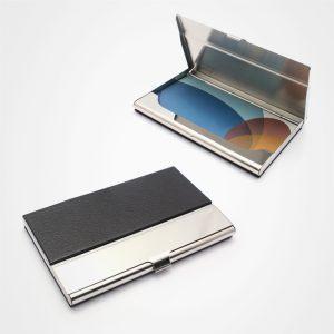 不銹鋼名片盒,PU吉片盒,卡片盒
