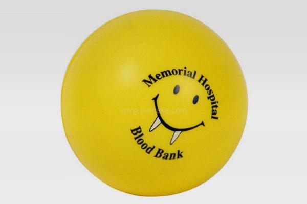 PU解壓球,釋壓球,發泄球,舒壓玩具,禮品定制,廣告贈品,PU光面減壓球