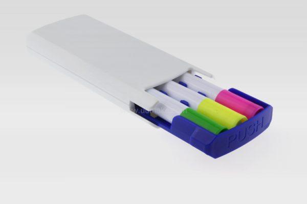 塑膠啫喱熒光筆,固態熒光筆,廣告異形水彩筆,定制禮品,熒光筆套裝