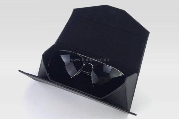 PU收納盒,個人配件,禮品定制,折疊眼鏡盒