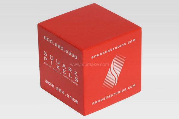 PU解壓球,釋壓球,發泄球,舒壓玩具,禮品定制,廣告贈品,正方體減壓球