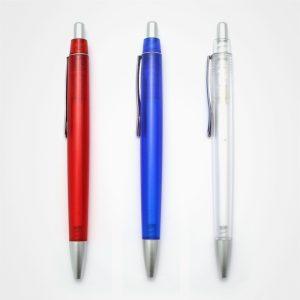 廣告原子筆,手按直桿走珠筆,定制禮品,塑膠圓珠筆