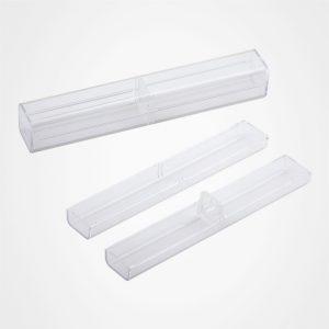 高檔水晶筆盒,禮品筆盒,文具包裝盒,方形水晶筆盒