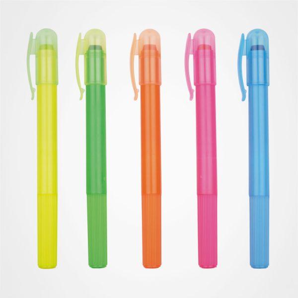多色啫喱熒光筆,廣告固體熒光筆,禮品定制,扭轉式熒光筆