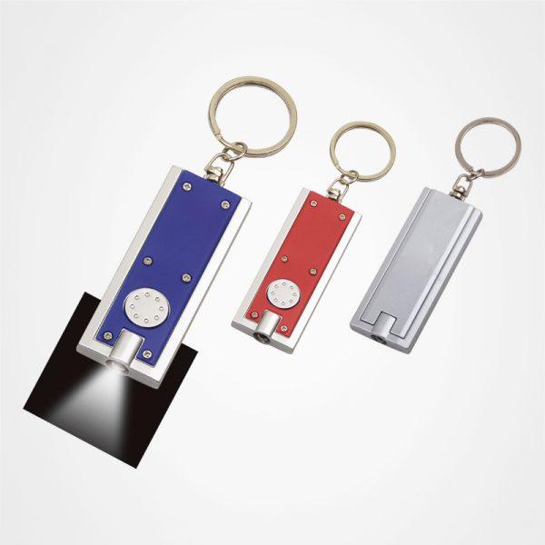 多功能鎖匙扣,廣告鑰匙扣,LED電筒,定制禮品,長方形鎖匙燈