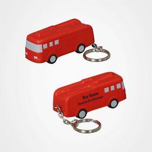 PU鑰匙扣,證件扣,卡通書包掛件,禮品定制,廣告贈品,消防車鎖匙扣