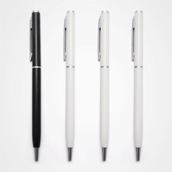 廣告塑膠原子筆,手按直桿走珠筆,定制禮品,金屬扭動圓珠筆