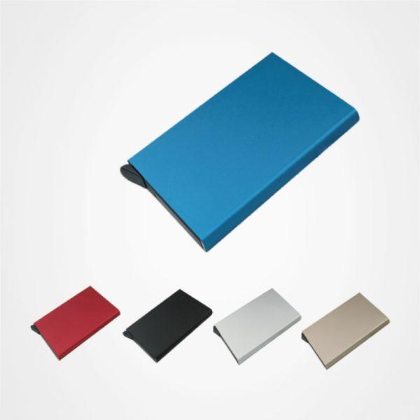 防盜鋁製名片盒,啞面名片盒,卡片盒,禮品定制,金屬卡包