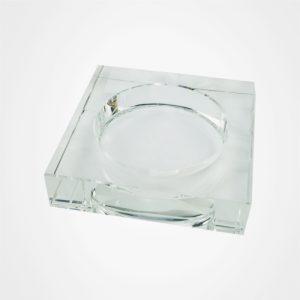 水晶煙灰缸,禮品定制,方角煙灰缸