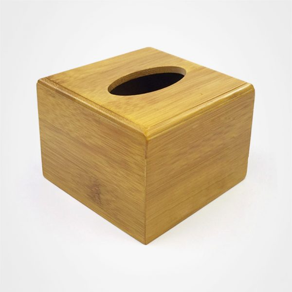 實木紙巾套,餐巾抽盒,桌面擺件,禮品定制,楠竹紙巾盒