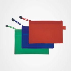 廣告儲物袋,文件袋,拉鏈包,辦公文具,禮品定制,A4磨砂夾網收納袋