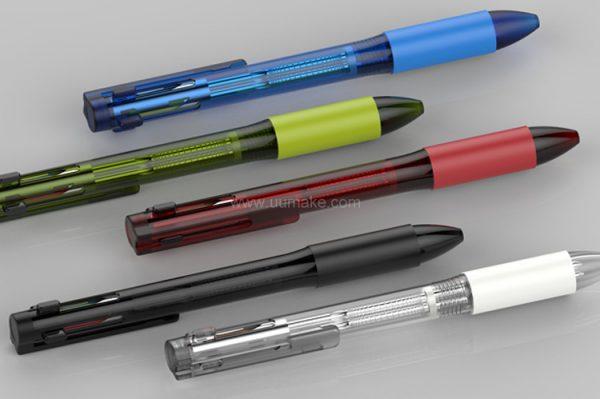 塑料圓珠筆,廣告筆,走珠筆,圓珠筆,塑料筆,禮品筆,簡易圓珠筆,訂造,定做,批發,塑膠多色筆