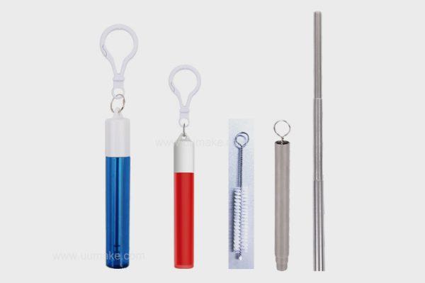 環保飲用工具,飲管,家用吸管,便攜式吸管,個人用品,廣告禮品,促銷禮品,贈品,訂造,定做,批發,收納式金屬吸管