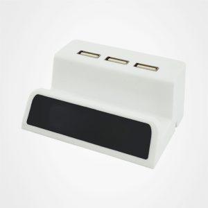 壹拖三USB集線器,多功能USB拓展器,手機支架USB擴展器,LED燈發光HUB分線器,手機支架,廣告禮品,促銷禮品,贈品,訂造,定做,批發,手機座USB分配器