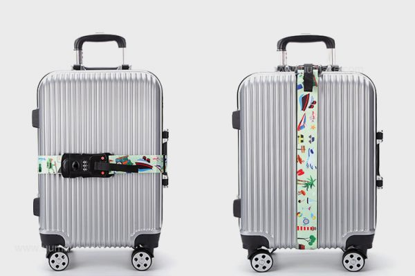 密碼鎖捆綁帶,電子秤彈性打包帶,行李箱綁帶,行李箱配件,旅行用品,定制,定做,活動贈品,批發,Luggage-belt,多功能行李帶