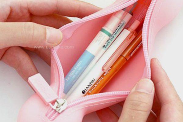 筆造型文具袋,收納筆袋,硅膠筆形儲物袋,批發,定制,定做,活動贈品,Pencil-case,硅膠拉鏈筆袋