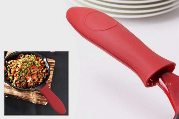 防滑防燙軟質手柄套,鍋把套,耐高溫把手套,手把套,廚房用品,Pot-handle,隔熱鍋柄套