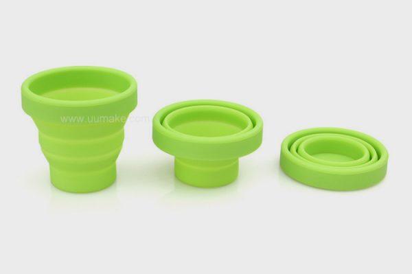 伸縮杯,便攜水杯,帶蓋戶外水杯,批發,定制,定做,贈品,Folding-cup,硅膠折疊杯